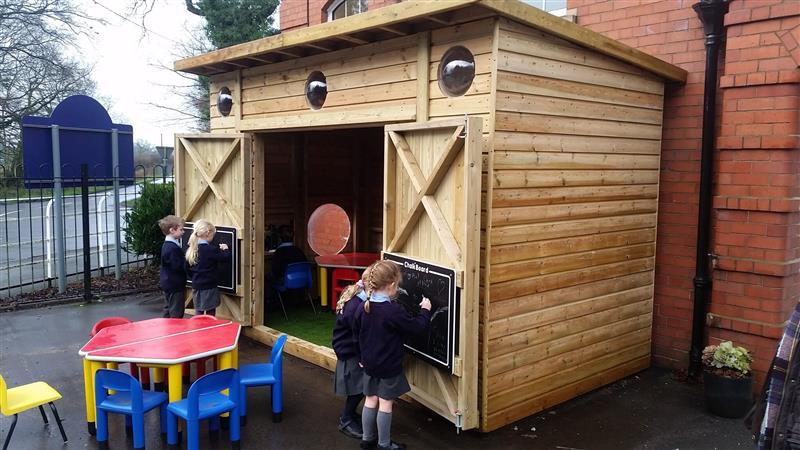 playground storage for schools