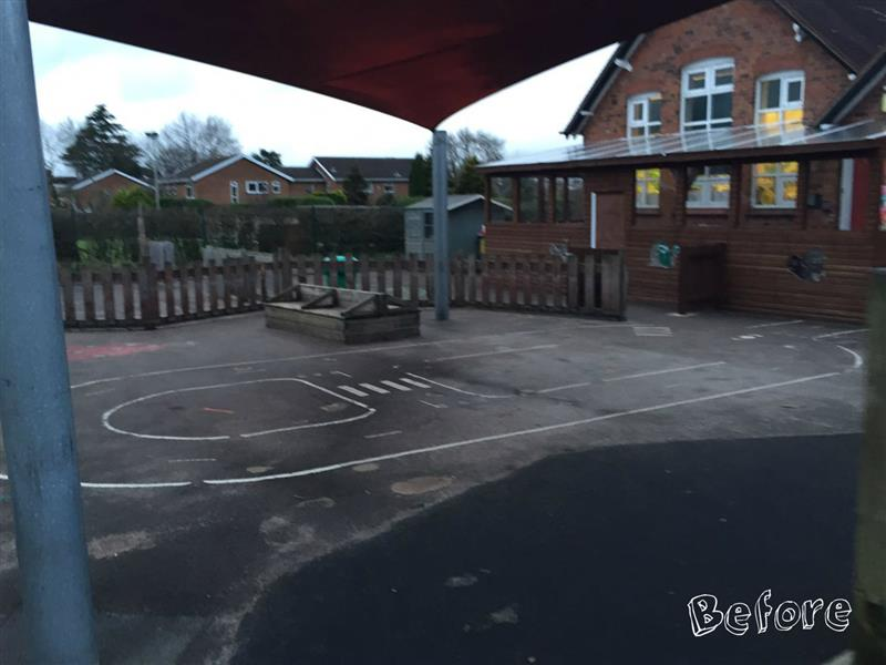 Alsager Highfields Primary School Playground