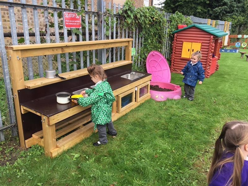 mud kitchen playground equipment