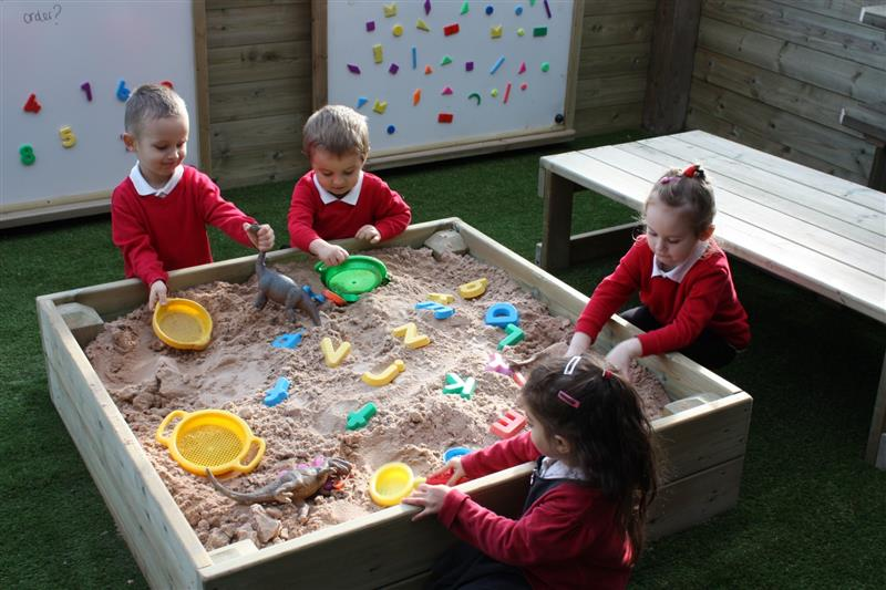 sand play ideas for schools