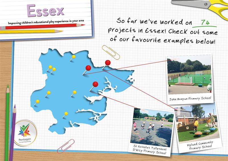 School Playground Equipment in Essex