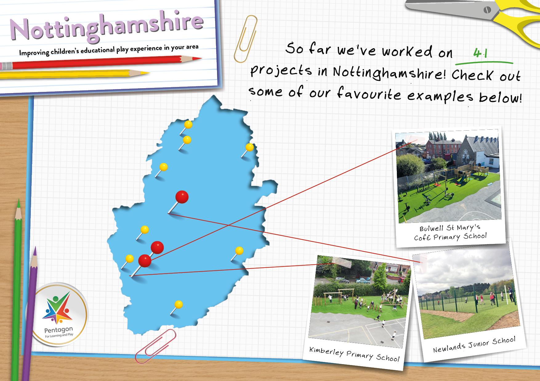 School Playground Equipment in Nottinghamshire