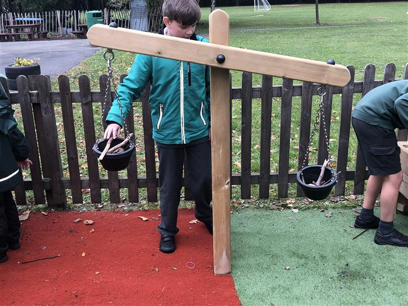 weighing scales for school playgrounds