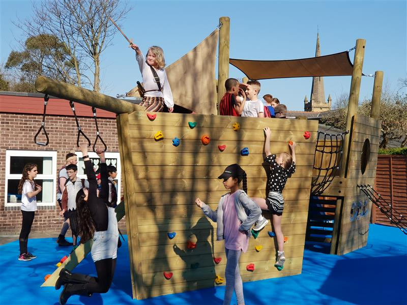 Playground Play Ship for Schools