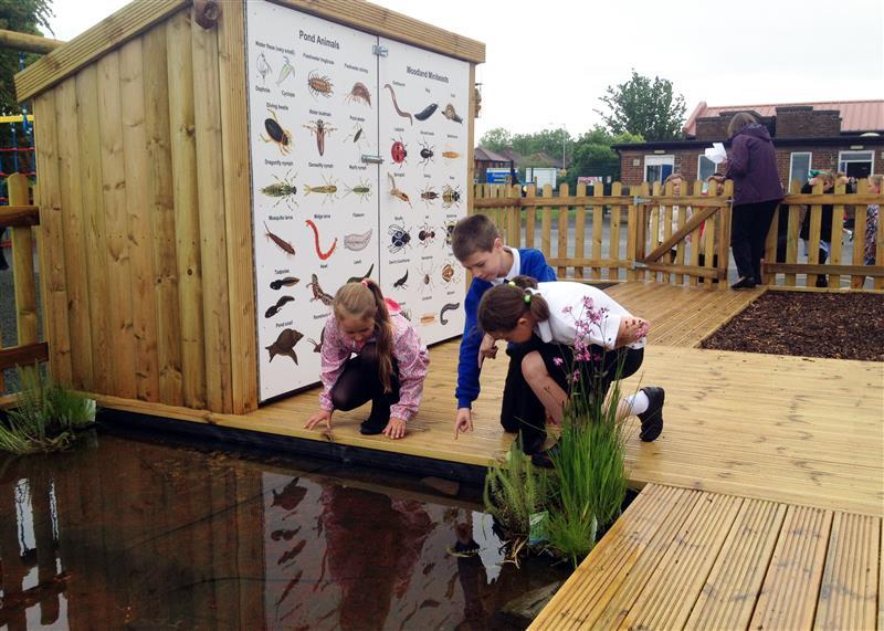 outdoor wildlife area for schools