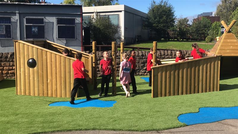 Imaginative Playground Equipment