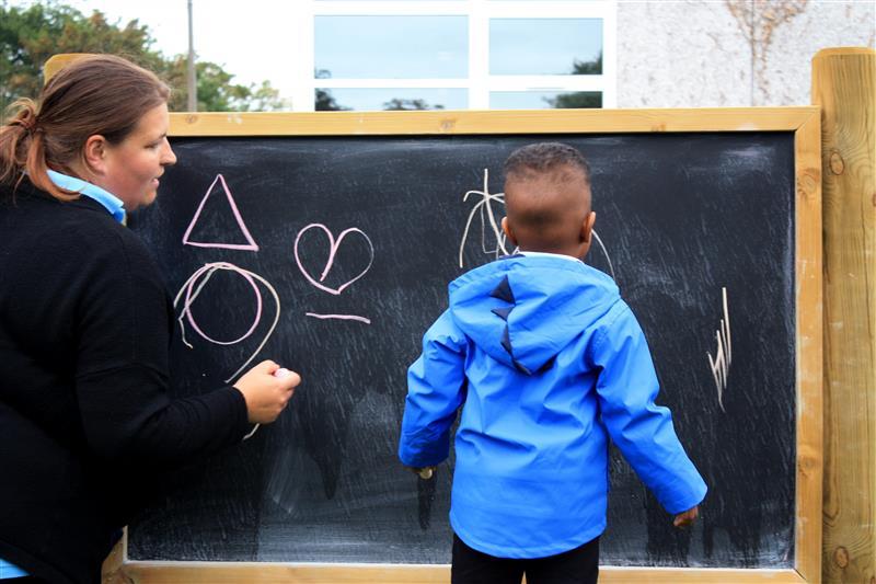 art on the playground