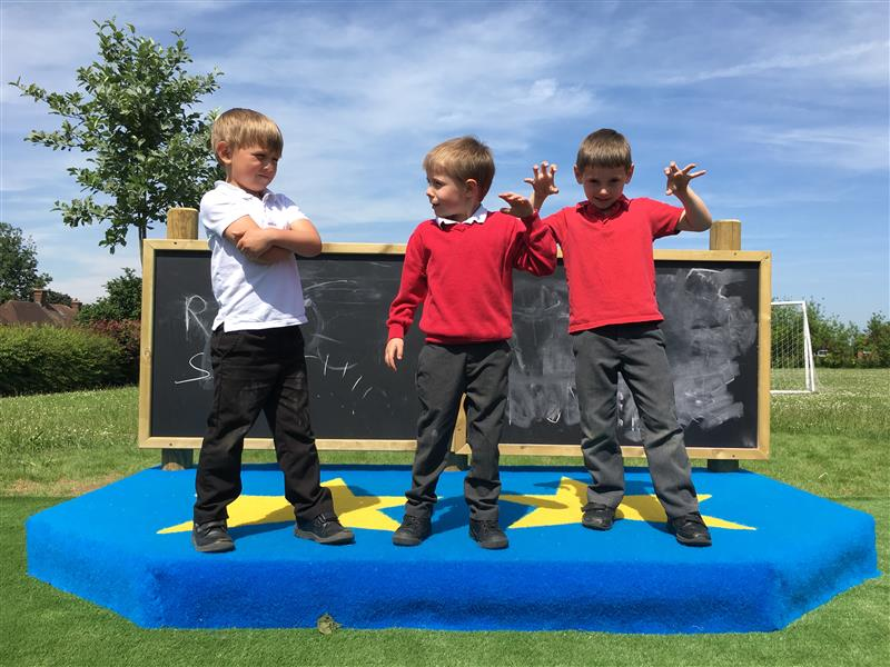 outdoor stage for schools