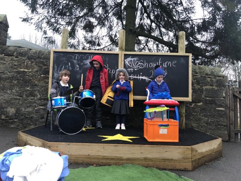 Outdoor Performance Stages for Schools