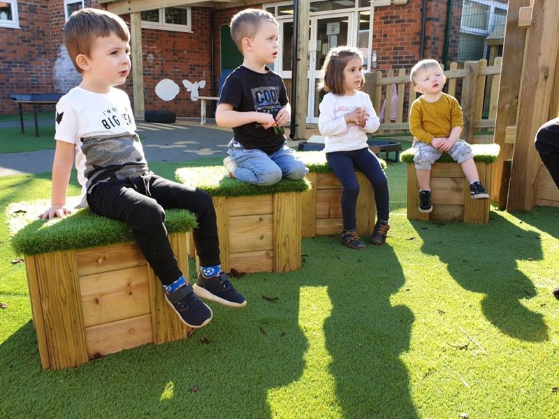 Playground Seating For Schools and Nurseries