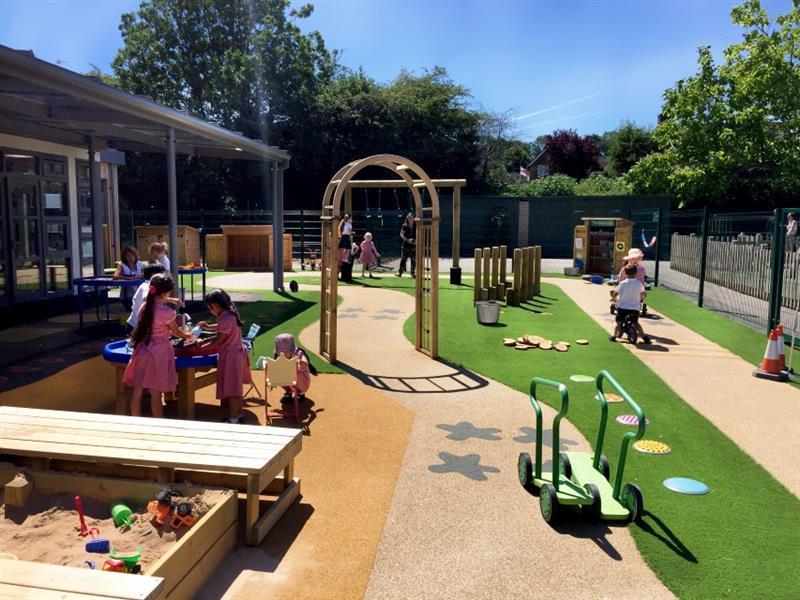 outdoor play in schools
