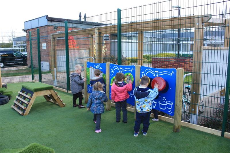 Outdoor Musical Play Instruments for Nurseries