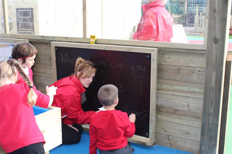 Chalkboards for School Playgrounds