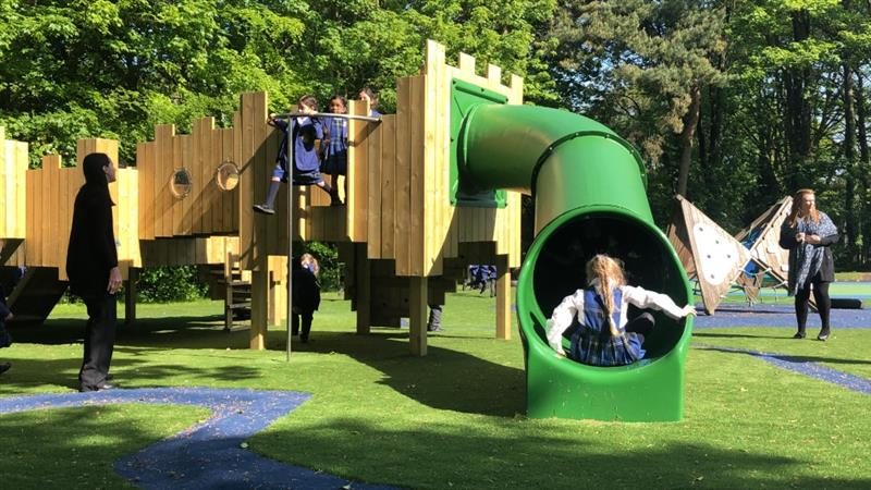 promote outdoor play in your school