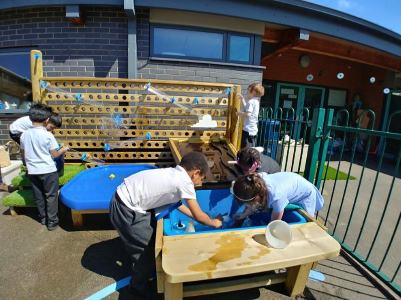 Water Walls for School Playgrounds