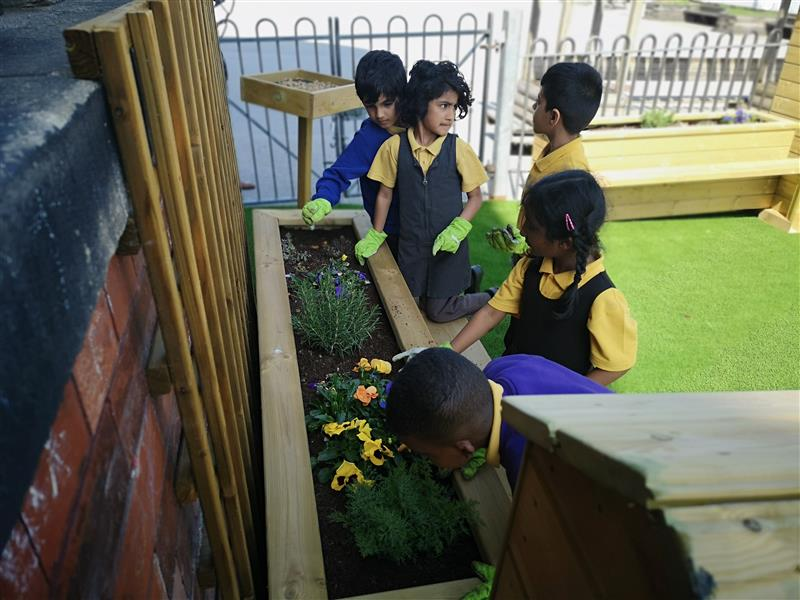 Playground Planters