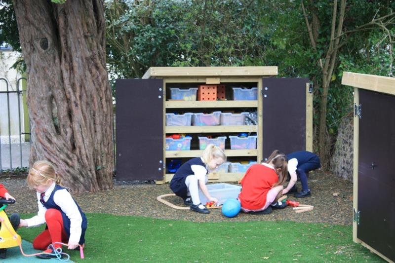 School Playground Storage Solutions