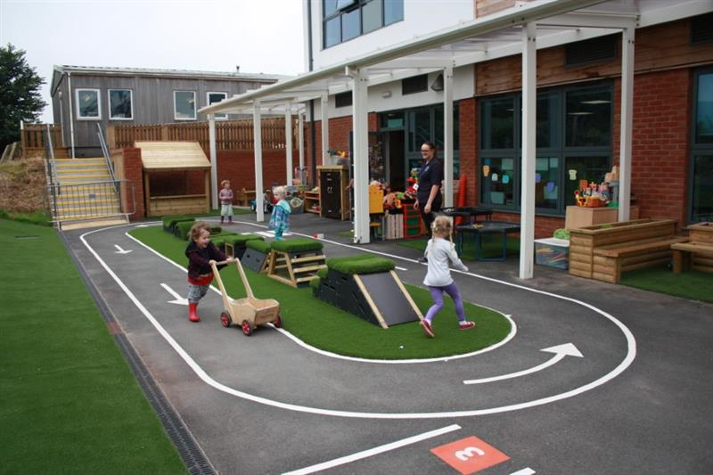 Outdoor Play Equipment For Nurseries