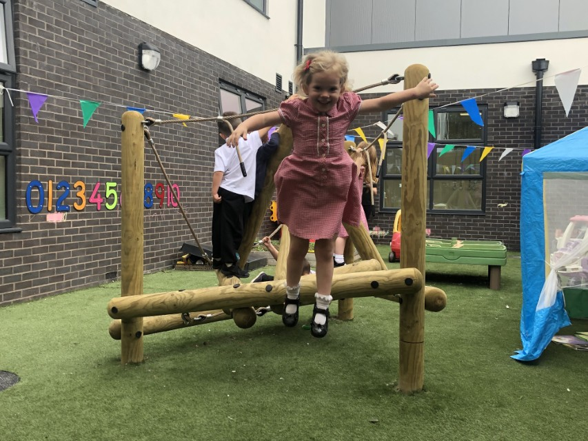 climbing frames for nurseries and preschools