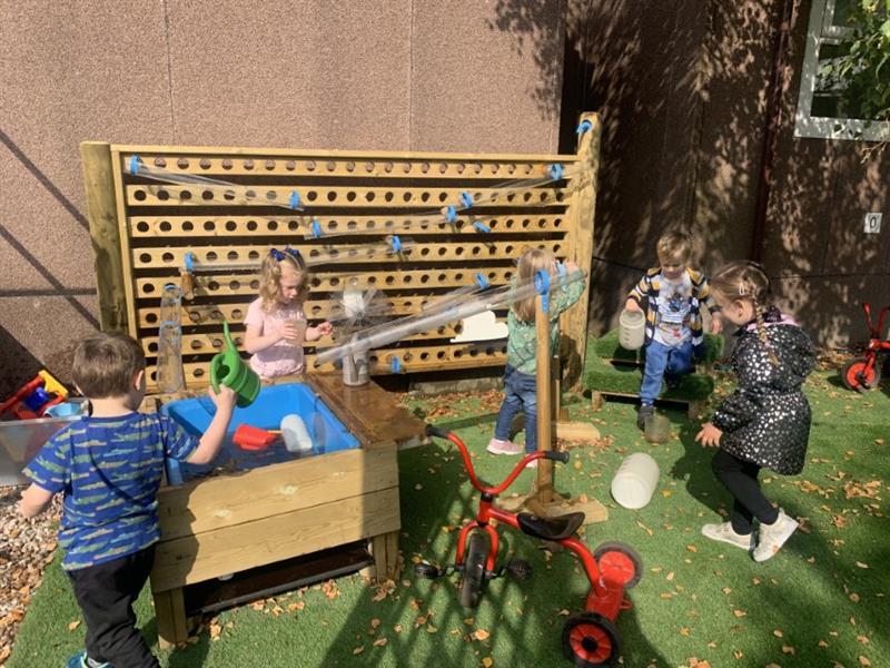 Water Walls for Preschools and nurseries
