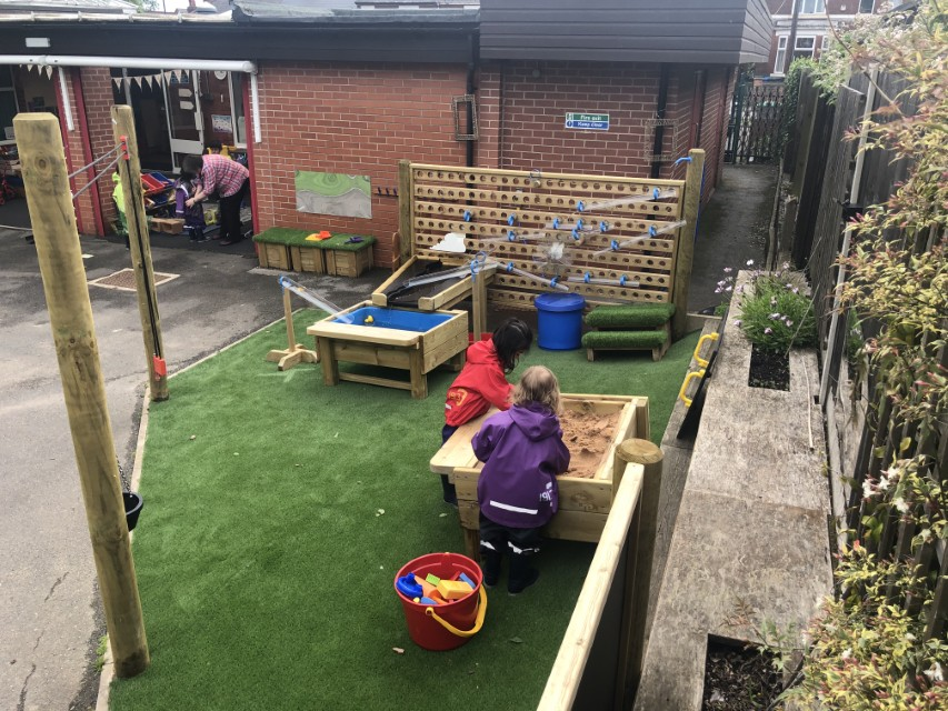 Outdoor Play Equipment for nurseries and preschools
