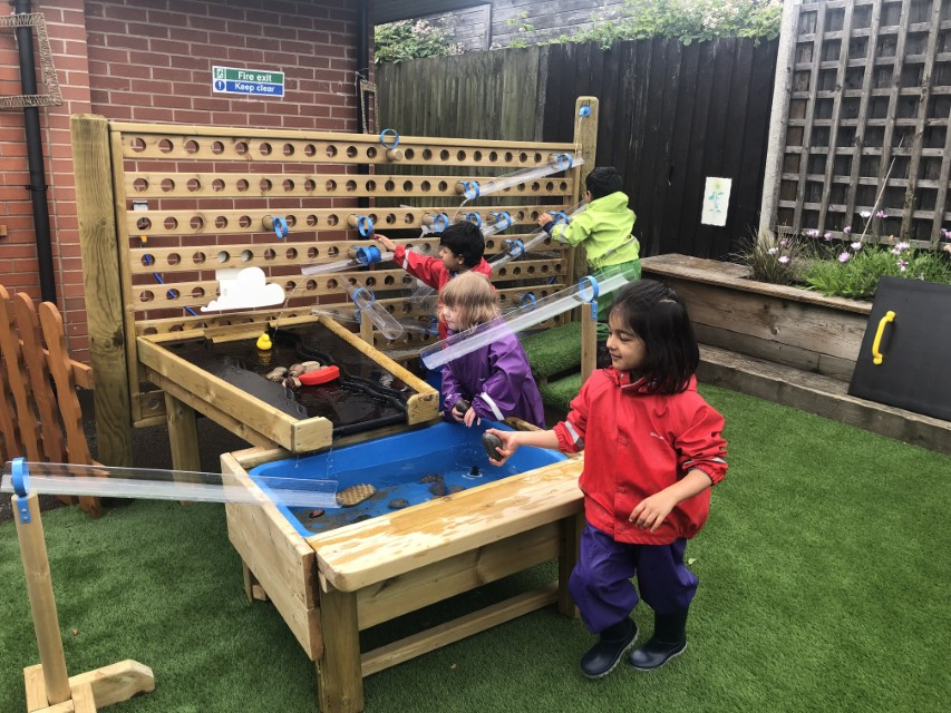 Water Play Equipment for Nurseries