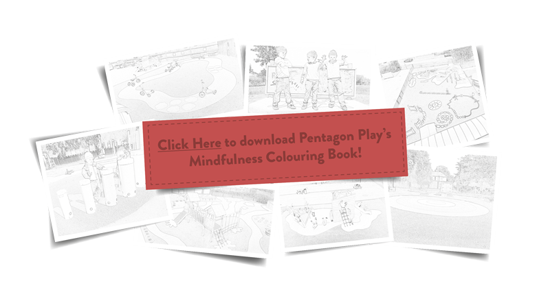 Mindfulness Colouring Book By Pentagon Play