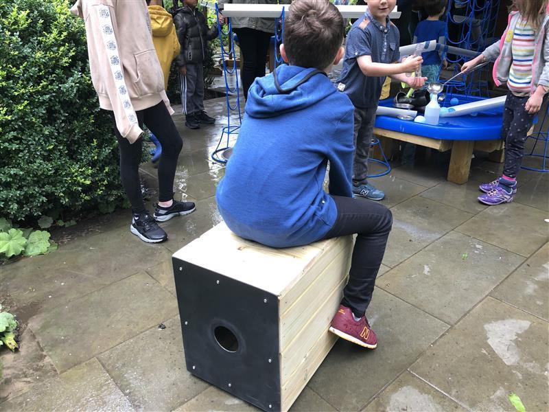 Playground Drum Seats for Schools