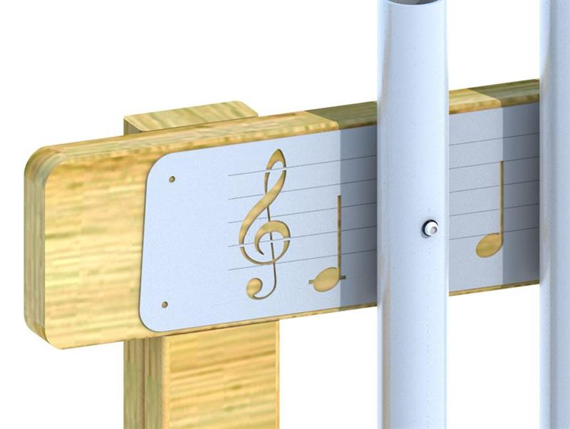 Outdoor Musical Play Equipment For Schools