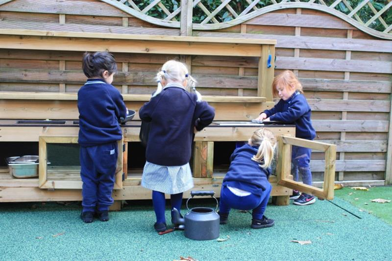 Mud kitchens for school playgrounds