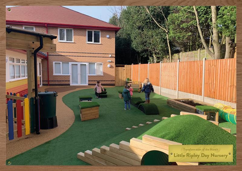 Outdoor Play Equipment for Nursery Gardens