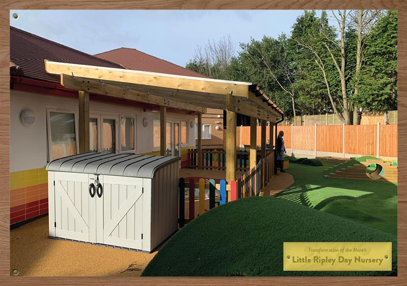 Outdoor Timber Canopies for Nurseries