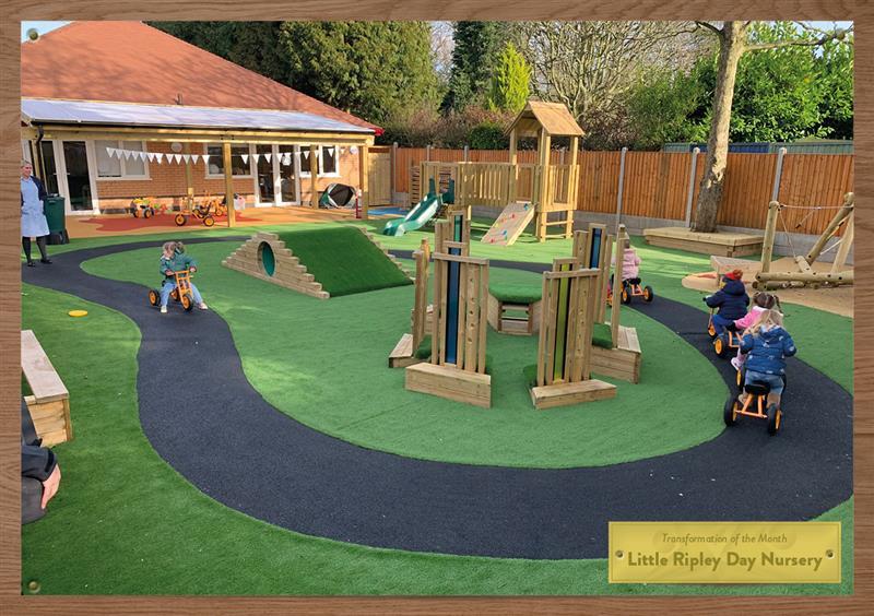 Playground Surfacing For Nurseries