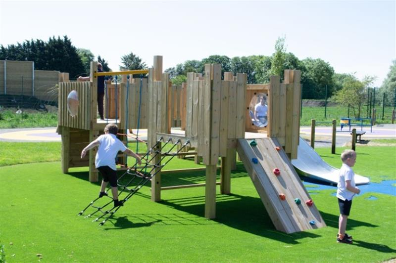 a bespoke playground