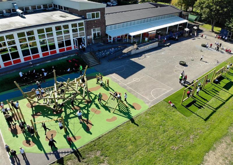 playground climbing frames