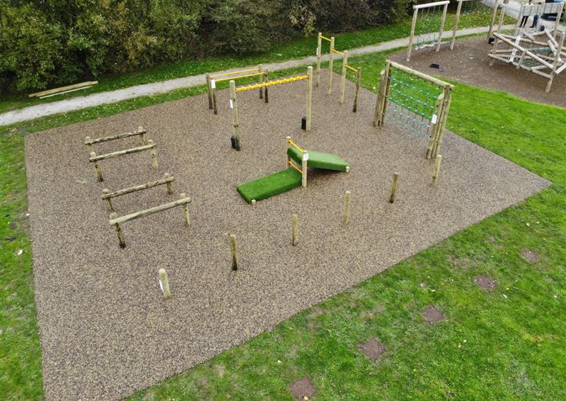 active playground equipment for schools