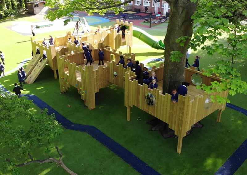 Playground Treehouses