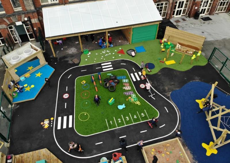 Eyfs roadways