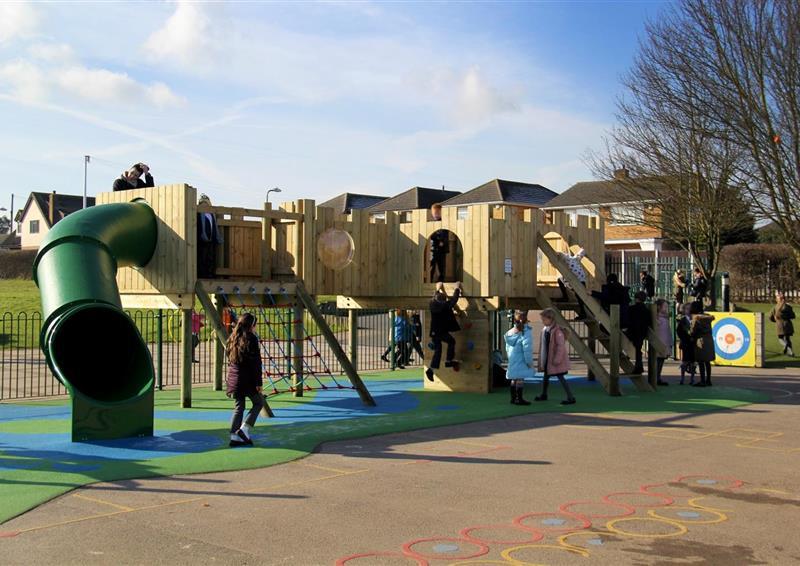 wooden playground equipment
