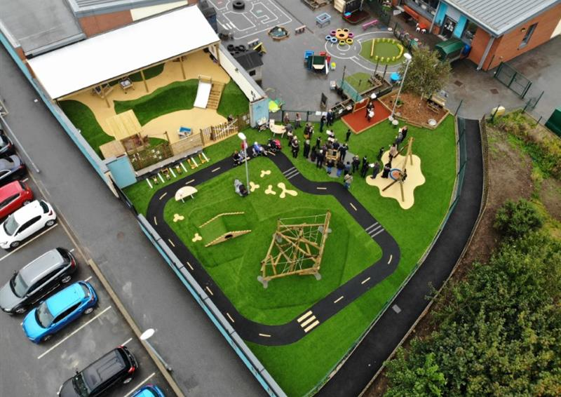 Playground Surfacing For Schools