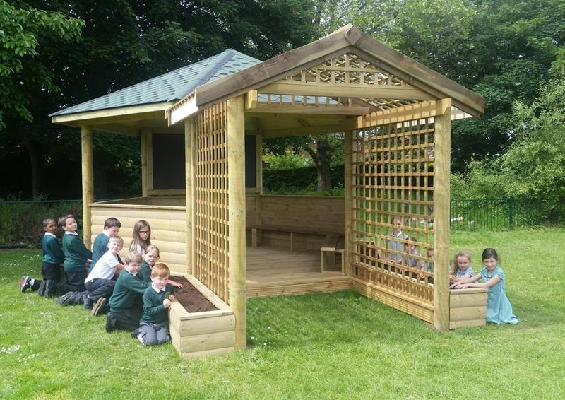 outdoor classrooms for schools