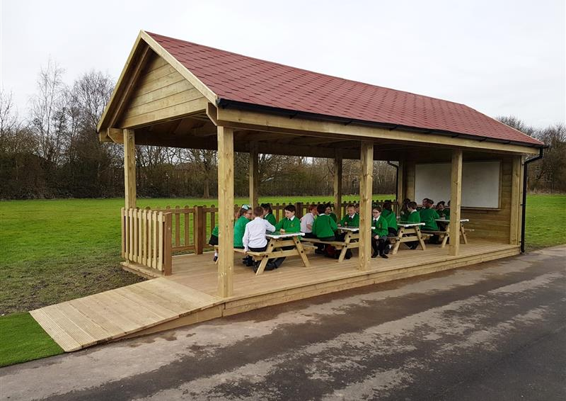 outdoor classroom for schools