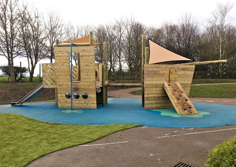 themed playground equipment