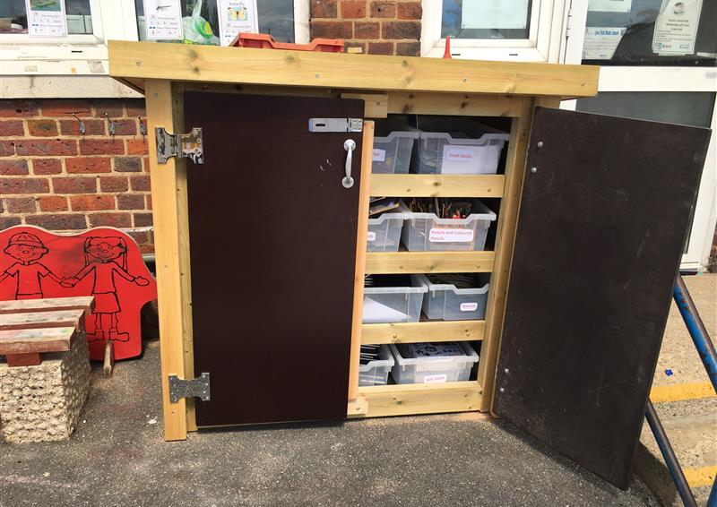 school playground storage ideas