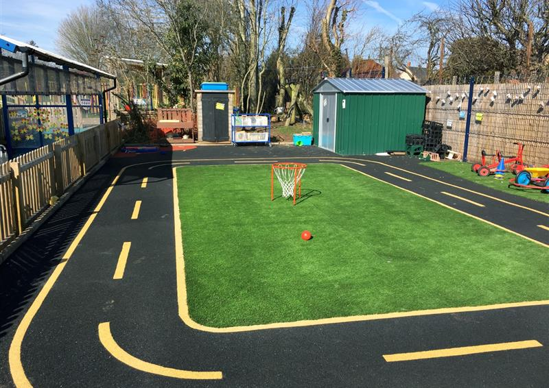 eyfs roadway surfacing