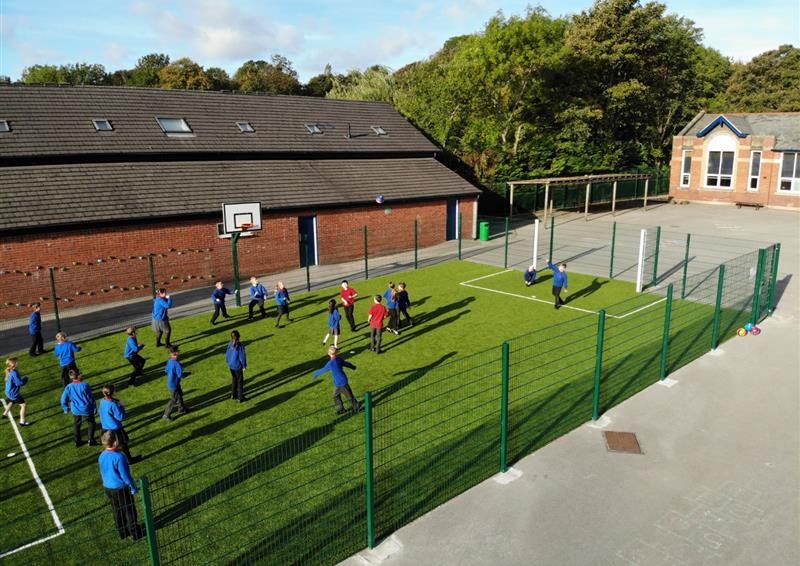 Muga football pitch