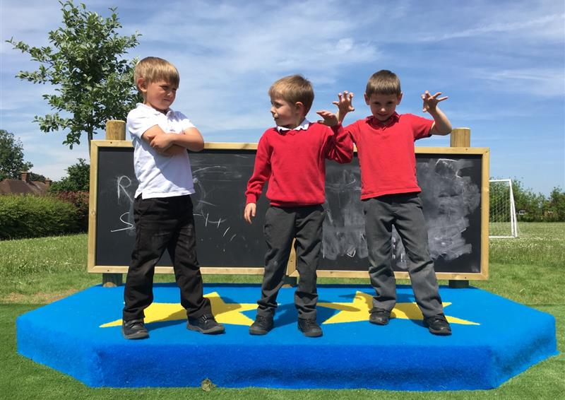 Performance stage for eyfs