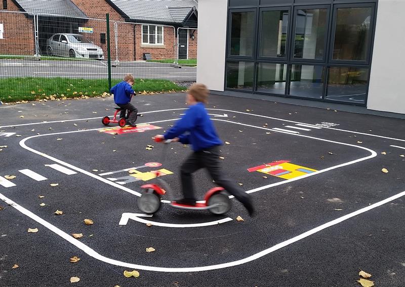 playground tarmac