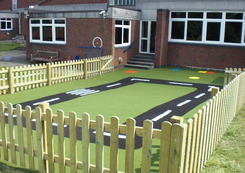 playground fencing for schools