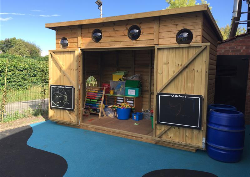 playground storage for schools